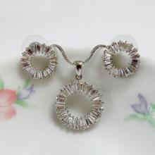 Circle Fashion Jewelry Set
