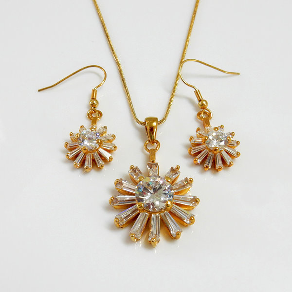 Fashion Jewelry CZ Set