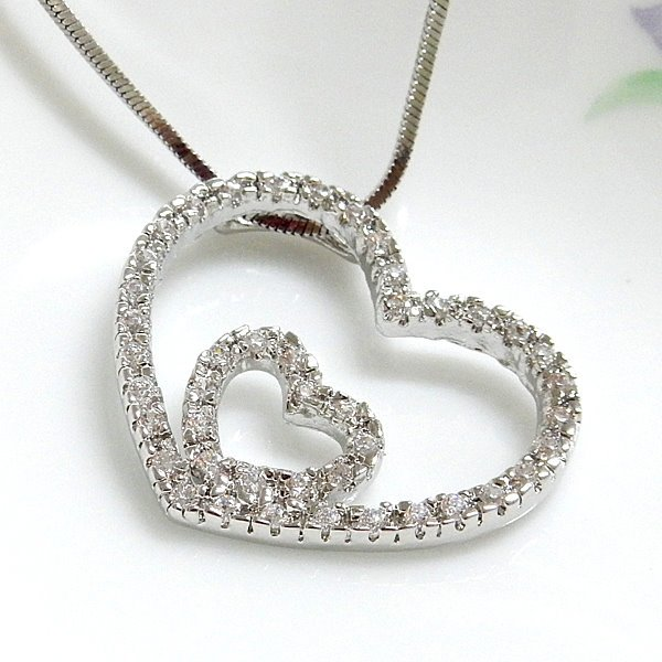 Two Hearts Pendant