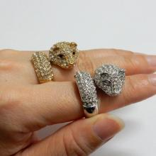 Leopard Crystal Ring