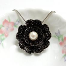 Flower Pendant Brooch