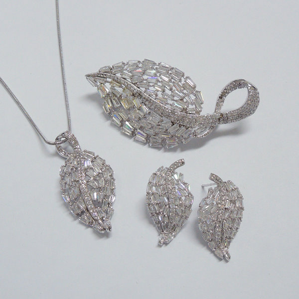 Leaf Fashion Jewelry Set