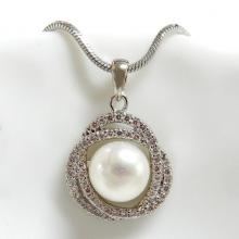 Pearl Knot Pendant