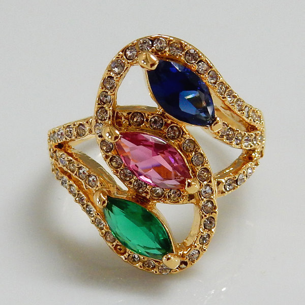 Fashion Jewelry Marquise Ring